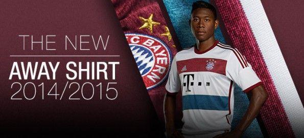 Maglia trasferta Bayern Monaco 2014-2015