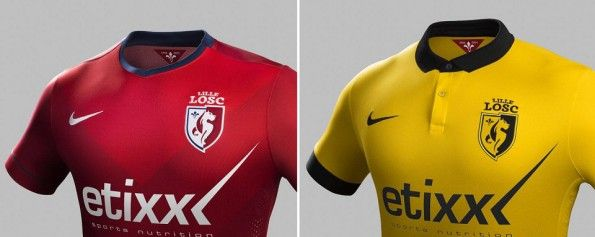 Maglie Nike Lille 2014-2015