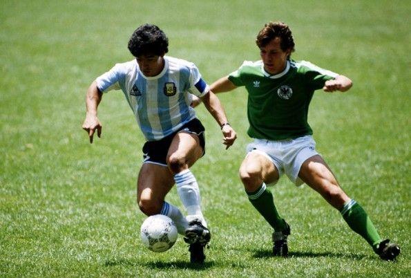 Maradona e Matthaus finale 1986