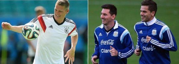 Materiale allenamento adidas Germania e Argentina
