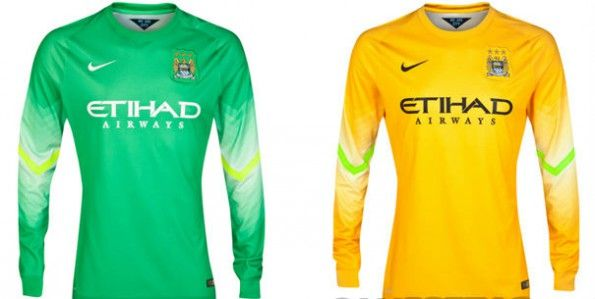 Maglie portiere Manchester City 2014-15