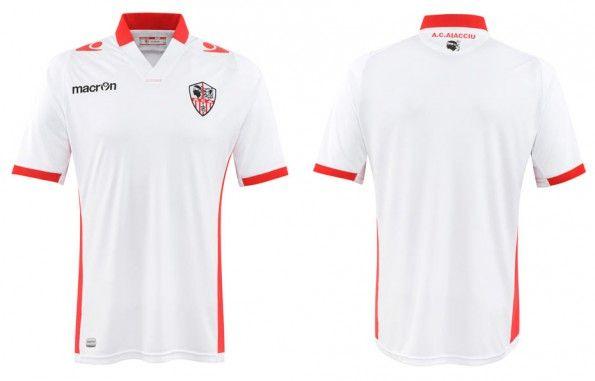 Seconda maglia Ajaccio 2014-2015