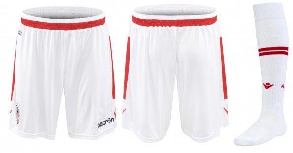 Pantaloncini calze Ajaccio away 2014-15