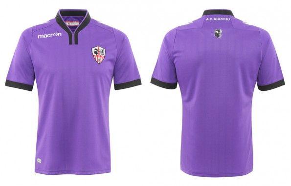 Terza maglia Ajaccio AC 2014-15