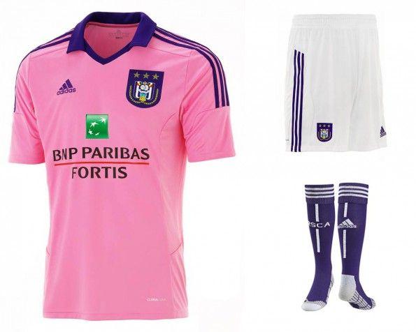 Seconda maglia Anderlecht 2014-15