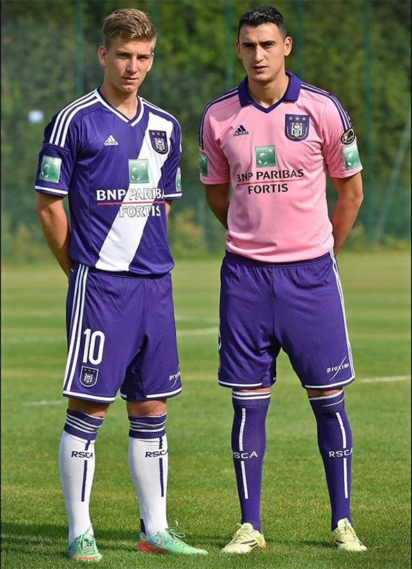Kit Anderlecht 2014-2015