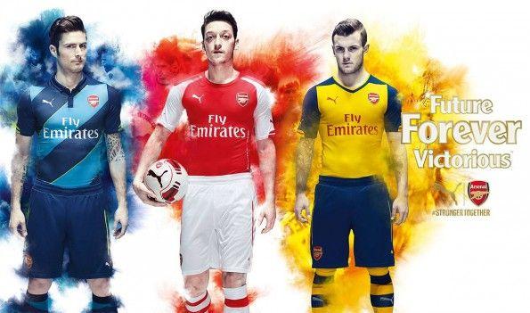 Arsenal kits 2014-2015 Puma