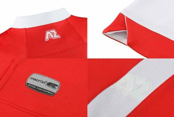 Dettagli prima maglia AZ Alkmaar 2014-15