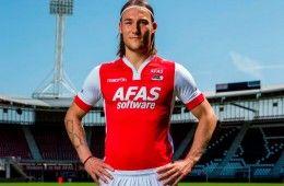 Presentazione maglia AZ Alkmaar Macron 2014-15