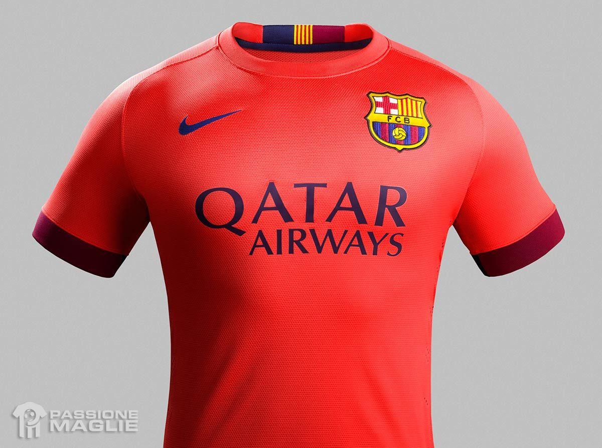 Seconda maglia Barcellona 2014-2015