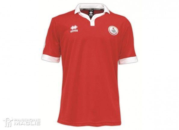 Prima maglia Bari 2014-2015 rossa
