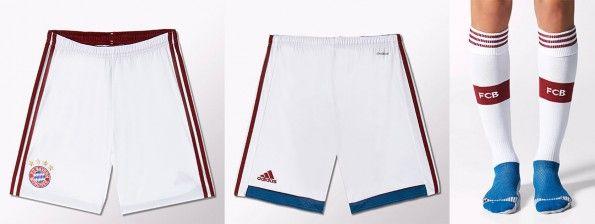 Pantaloncini calzettoni Bayern away 2014-2015