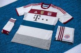 Bayern Monaco kit away 2014-2015 adidas