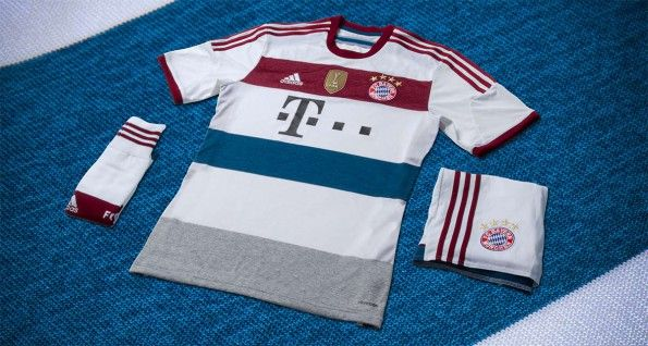 Bayern Monaco kit away 2014-2015 adidas