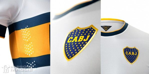 Colletto, stemma Boca Juniors away 2014-15