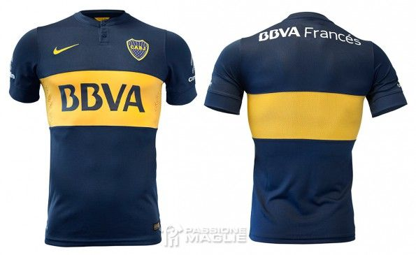 Maglia Boca Juniors 2014-2015