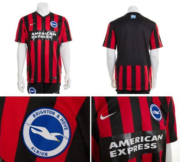 Seconda maglia Brighton & Hove Albion 2014-15