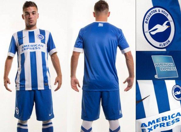 Maglia Brighton and Hove Albion home 2014-15