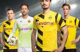 Presentazione maglia Puma Borussia Dortmund 2014-2015