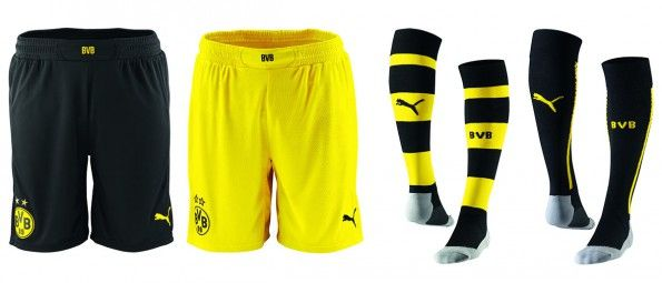 Pantaloncini calze Borussia Dortmund 2014-2015