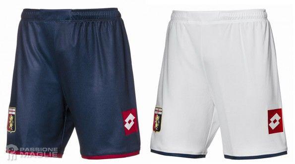 Pantaloncini Genoa 2014-2015 Lotto