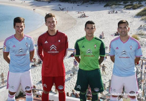 Divise Celta Vigo 2014-2015