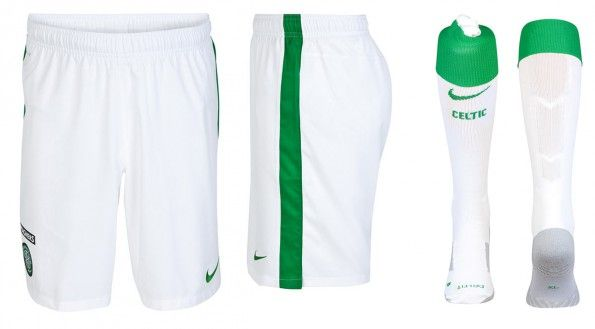 Celtic pantaloncini calzettoni 2014-15