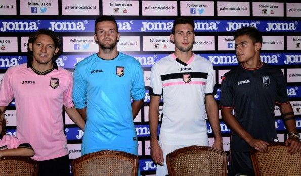 Kit Palermo 2014-2015 in conferenza stampa
