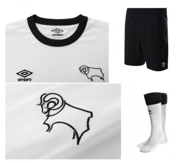 Dettagli maglia home Derby County 2014-15