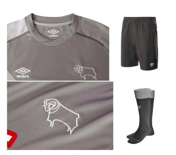 Dettagli kit portiere Derby County 2014-15