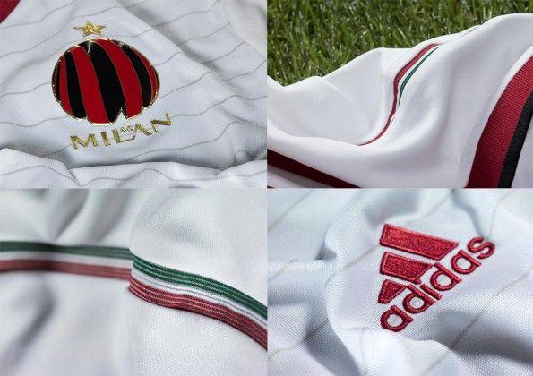 Dettagli seconda maglia Milan 2014-15