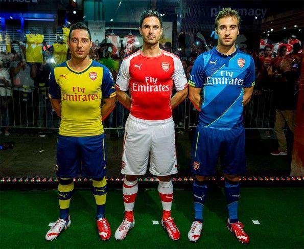 Divise Arsenal 2014-2015 Puma