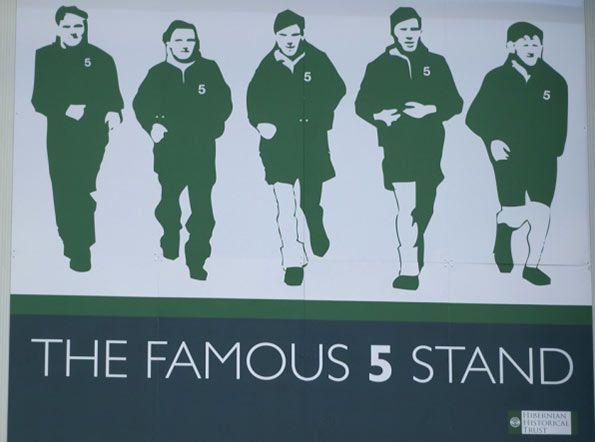 Famous five Hibernian