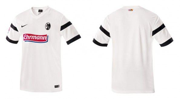 Seconda maglia Friburgo 2014-15