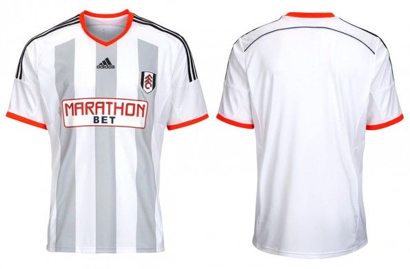 Maglia Fulham 2014-2015 adidas