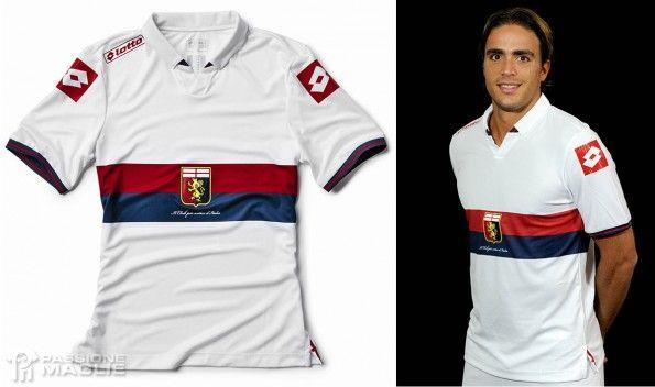 Seconda maglia Genoa 2014-2015
