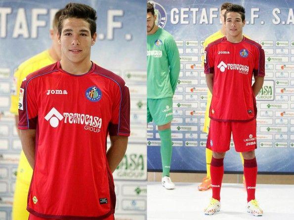 Seconda maglia Getafe 2014-2015