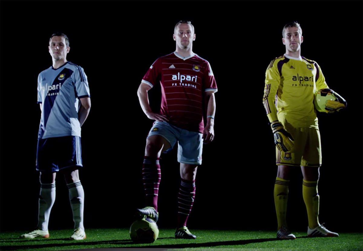 Kit West Ham adidas 2014-2015