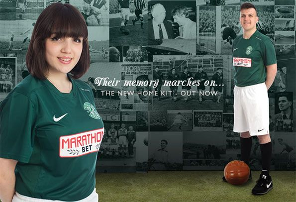 Kit home Hibernian 2014-2015