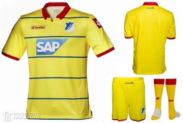 Seconda maglia Hoffenheim 2014-2015