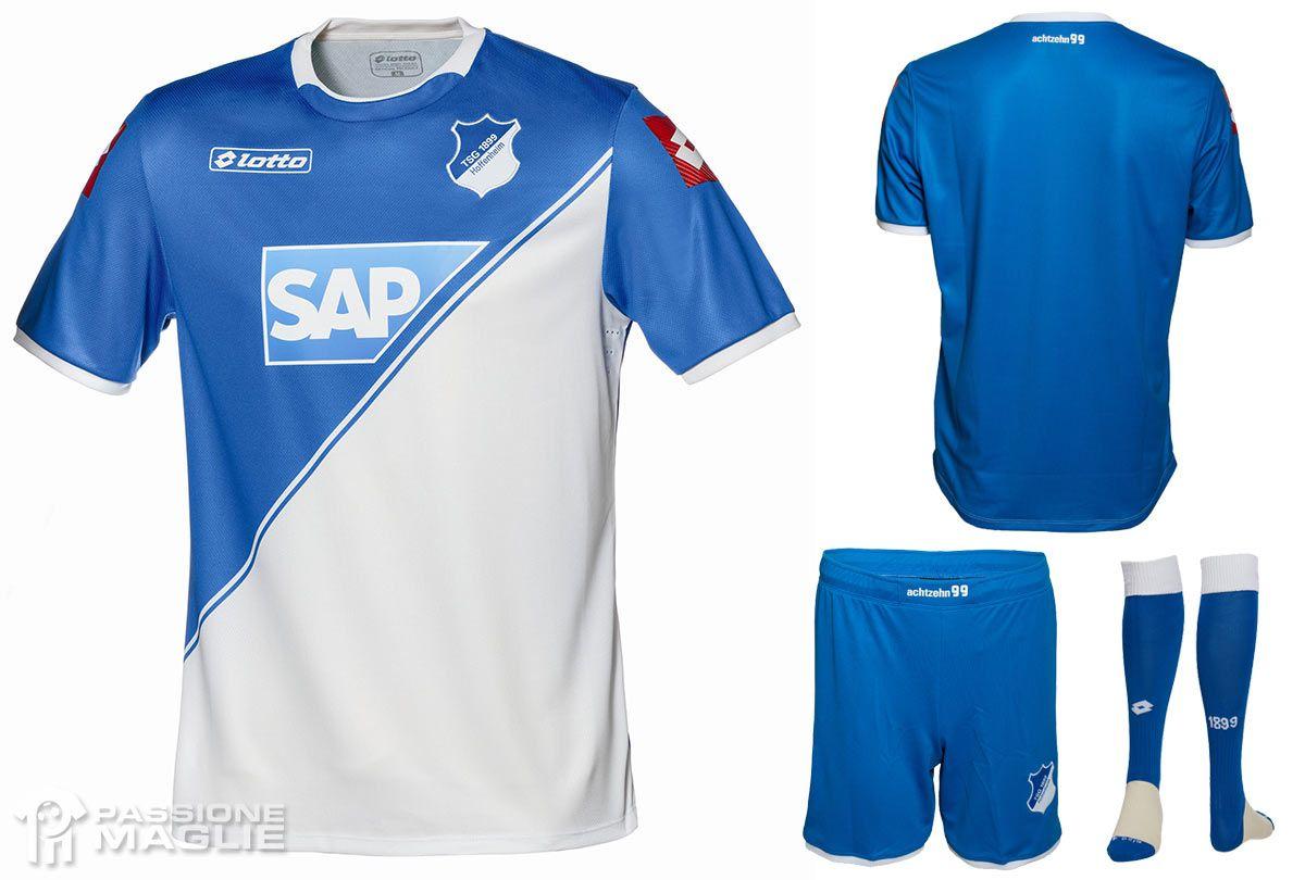 Camiseta Lotto oficial Hoffenheim 2014-15