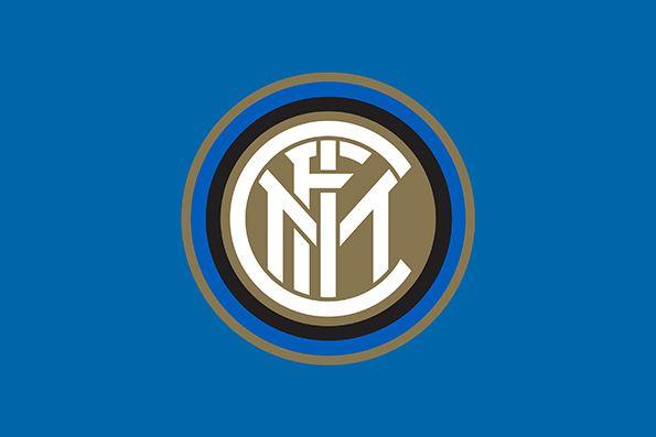 Nuovo logo Inter FC sfondo blu