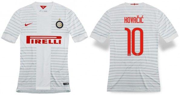 Maglia trasferta Inter 2014-15 Kovacic