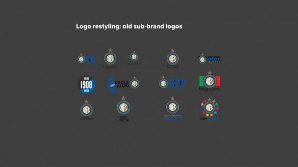 Inter sotto-brand vecchi stemmi