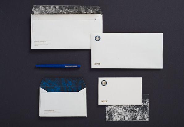 Buste e lettere nuovo logo Inter