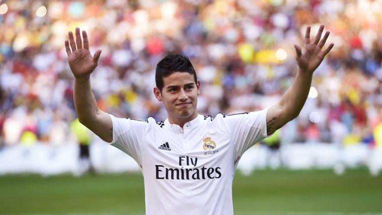 James Rodriguez al Real Madrid