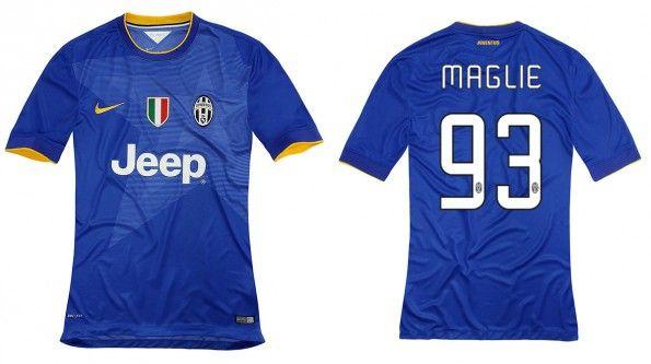 Juventus maglia blu away 2014-15