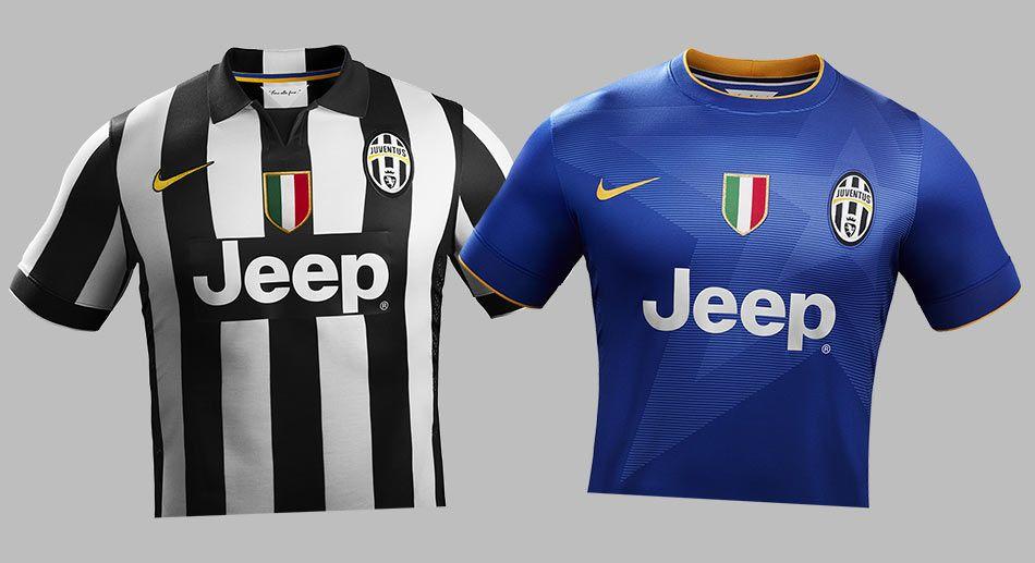 Juventus kits Nike 2014-15