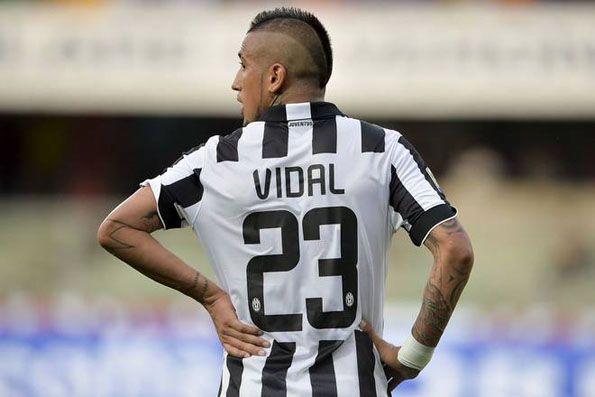 Juventus, home 2014-2015, numeri nei