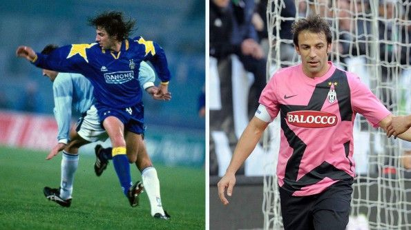 Juventus, away 1994-95 e 2011-12